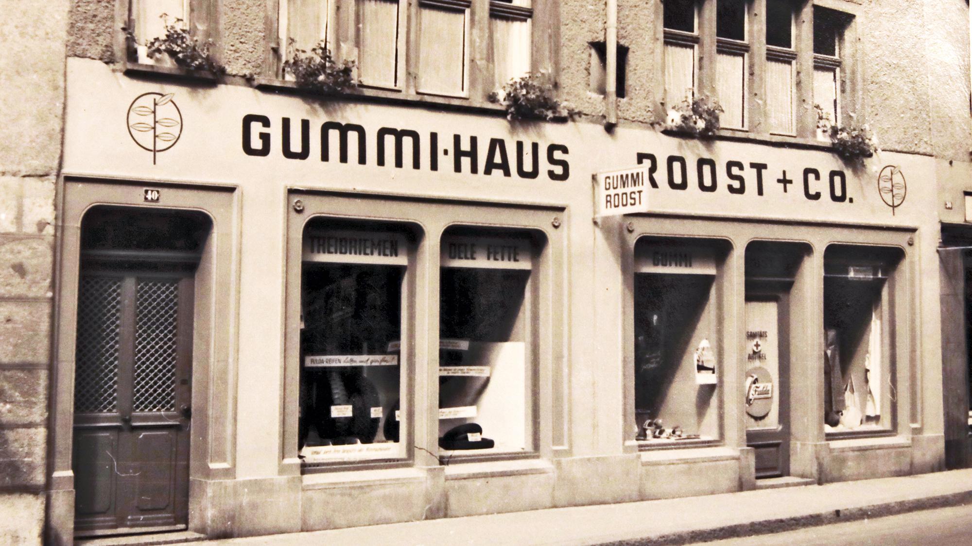 Historisch: Gummi Roost AG