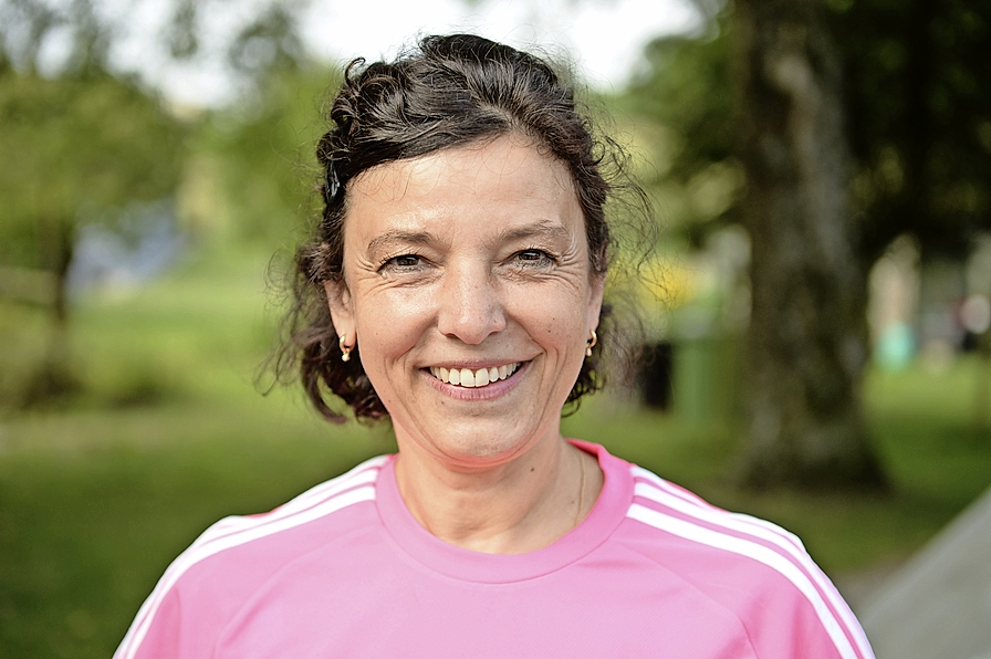 Brigitte Lucek, Initiantin Charity Walk
