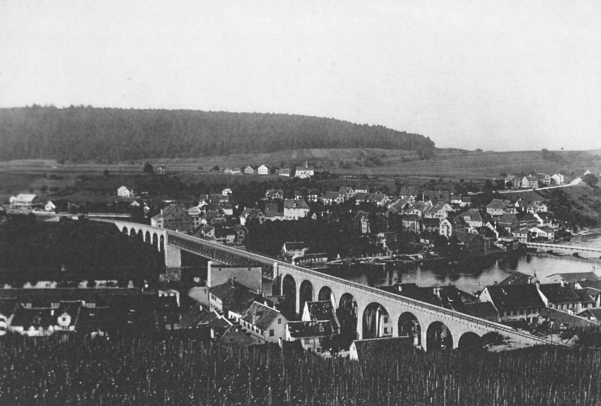 Eisenbahnbrücke 1895