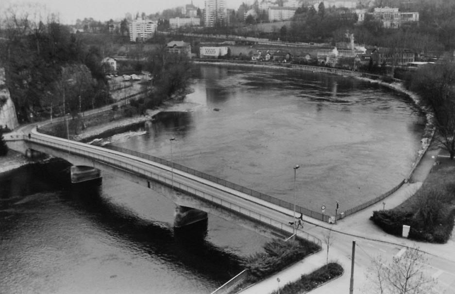 Flurlingerbrücke 1986