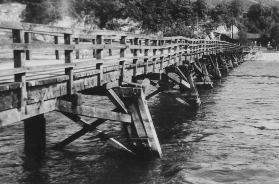 Flurlingersteg 1942