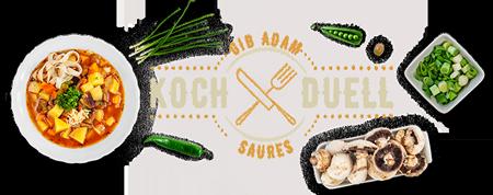 Gib Adam Saures. Das Schaffhauser Kochduell.