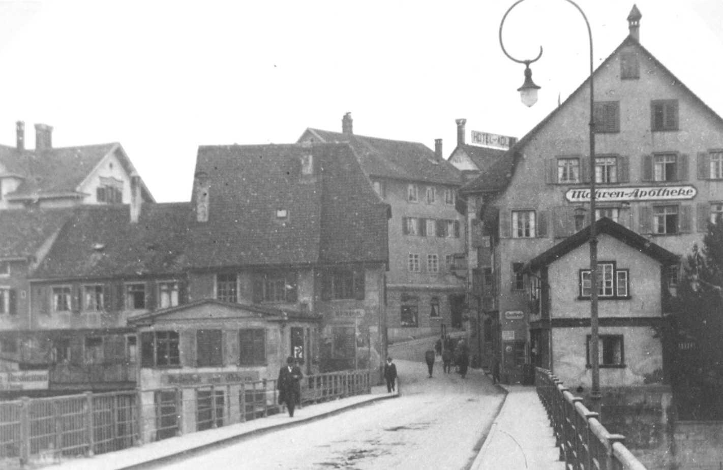 Feuerthaler Brücke ca. 1928