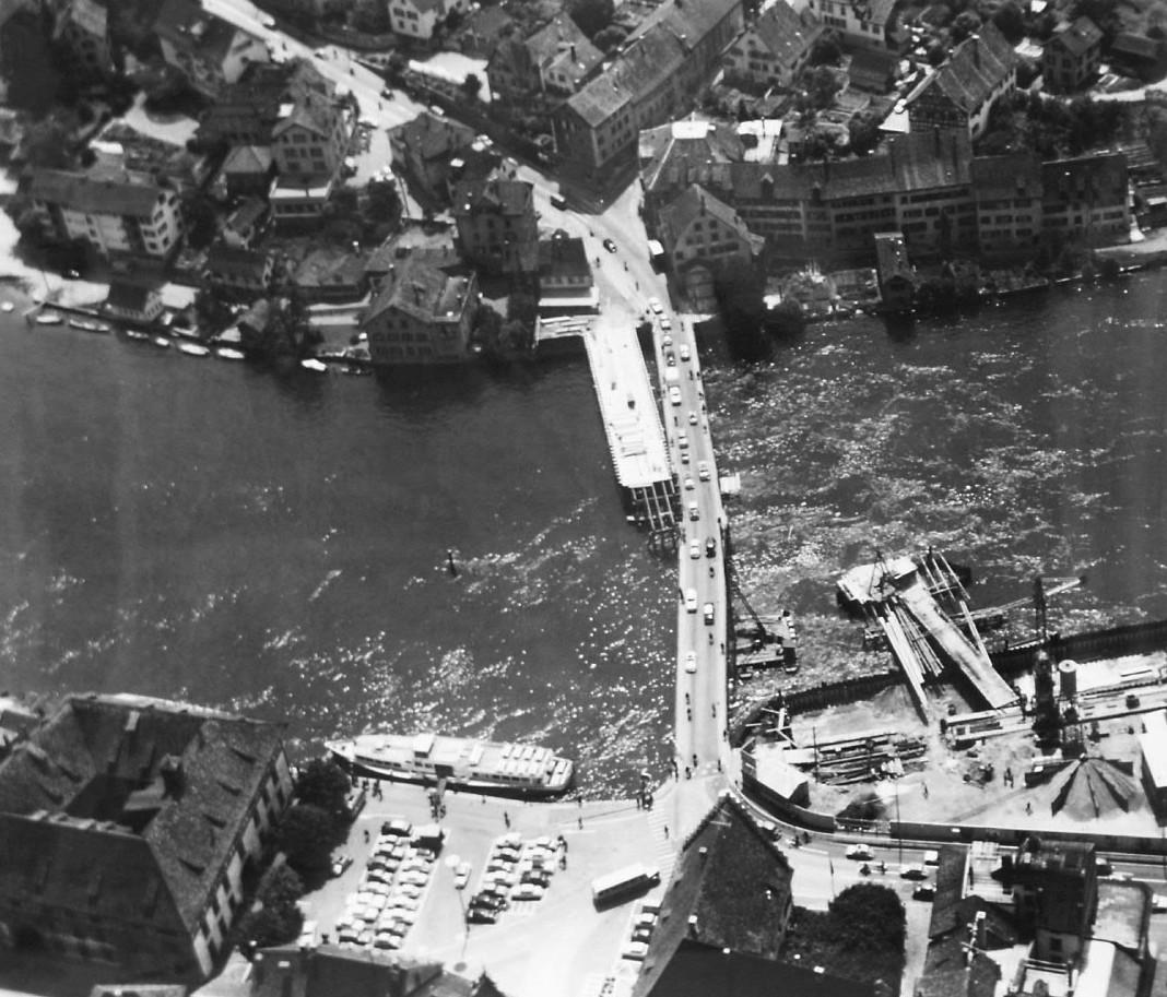 Feuerthaler Brücke 1962