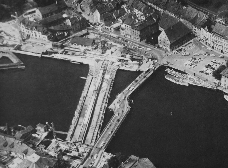 Rheinbrücke 1962