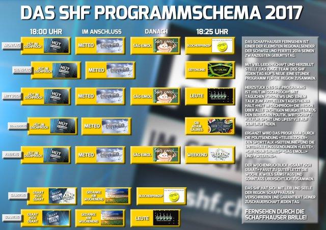 Programm Schaffhauser Fernsehen