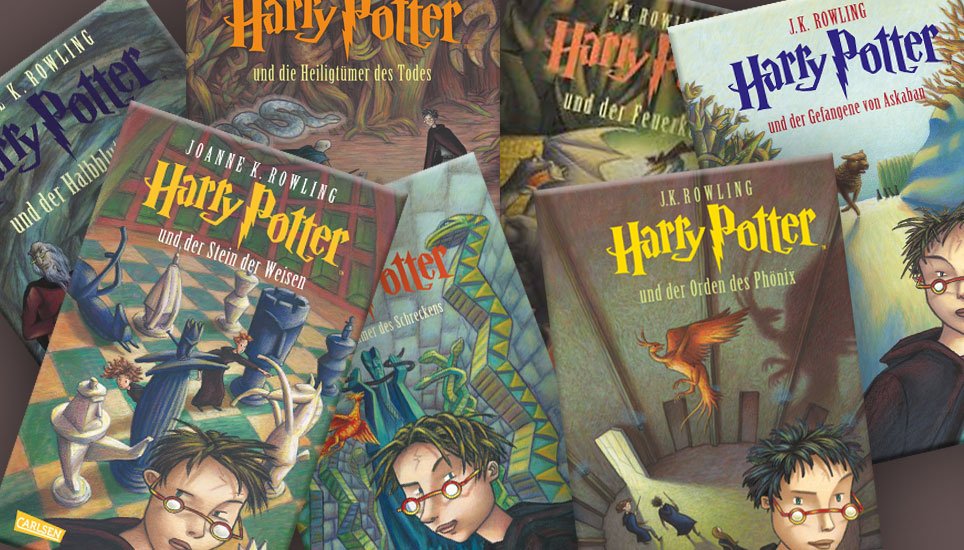Harry Potter Bücher Reihenfolge