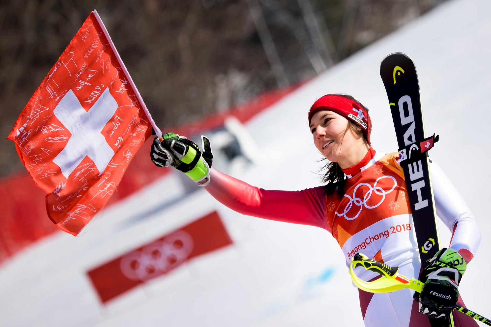 Wendy Holdener holt sich Olympia-Silber im Slalom ...