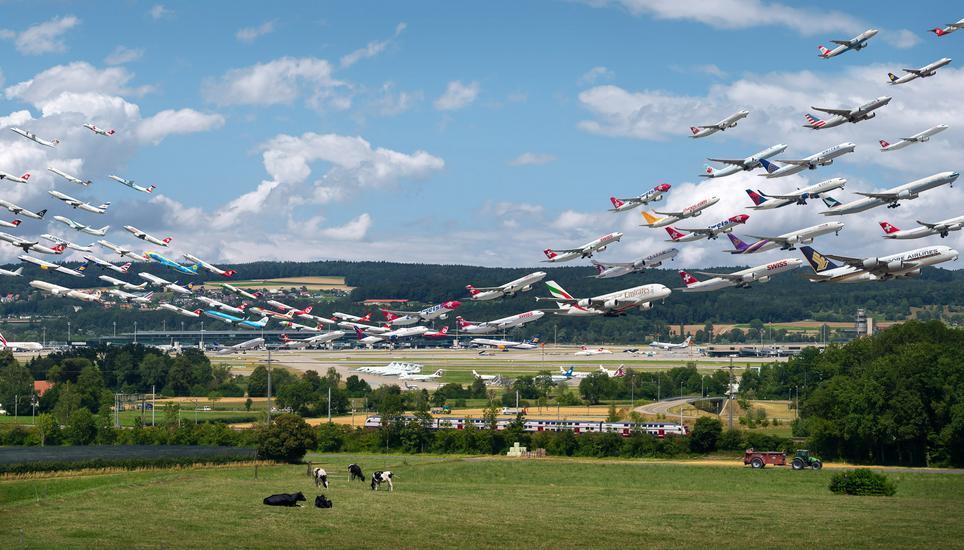 So Hast Du Den Flughafen Zürich Noch Nie Gesehen