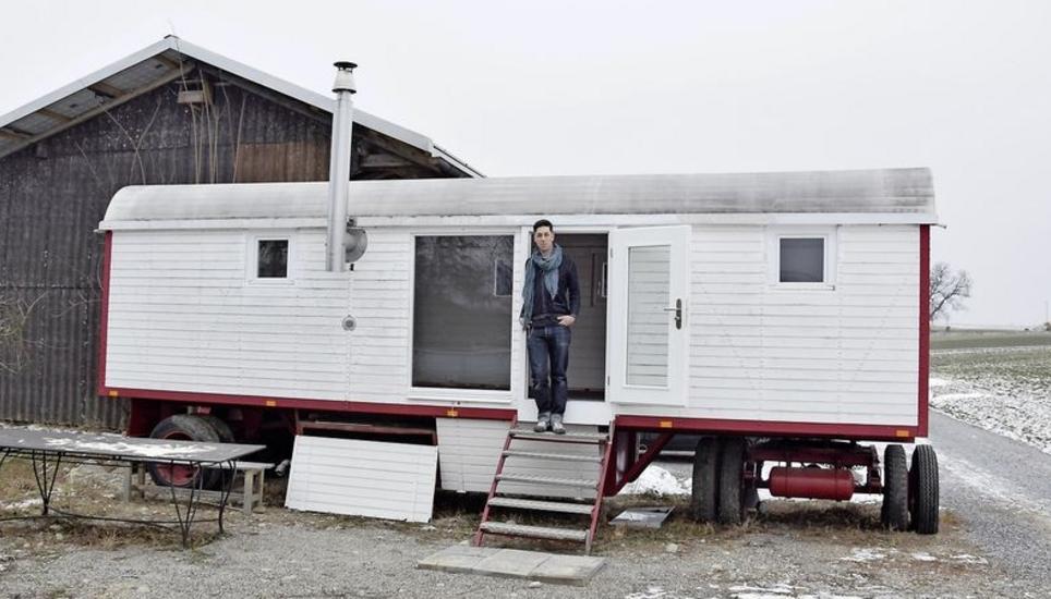 Leben auf knapp 18 quadratmetern schaffhauser nachrichten for Tiny house schweiz