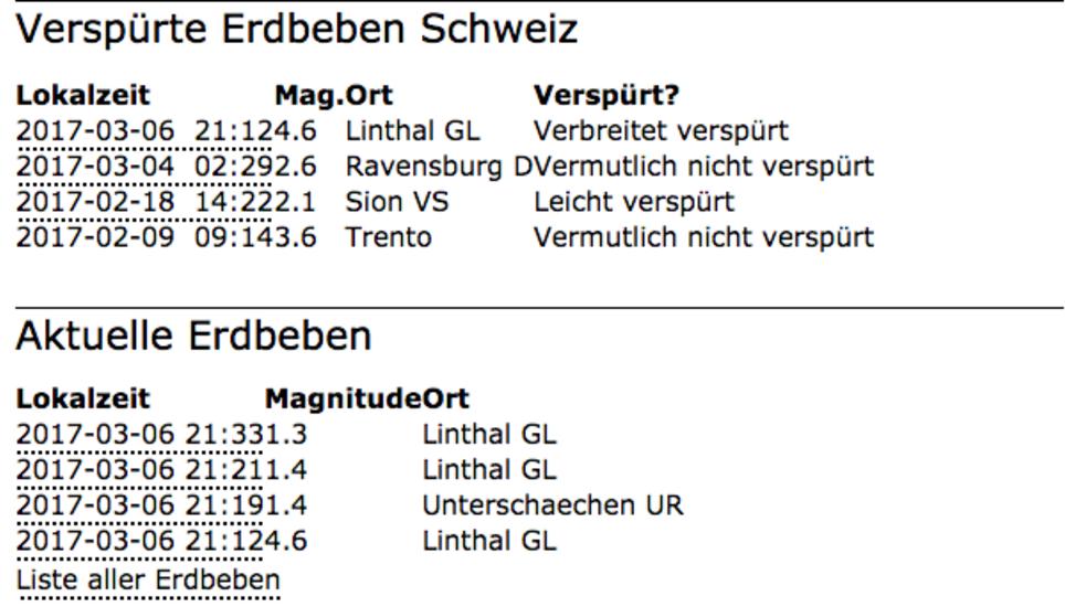 Erdbeben in der Schweiz bis in die Bodensee-Region zu spüren
