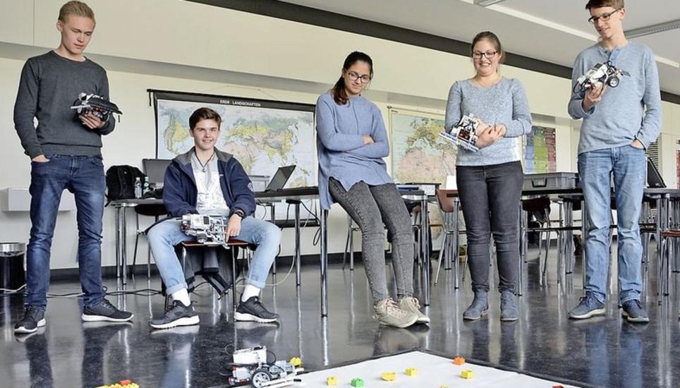 Die Roboter Erobern Das Schulzimmer Schaffhauser Nachrichten