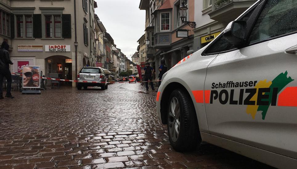 Fünf Verletzte nach Angriff in Schaffhausen