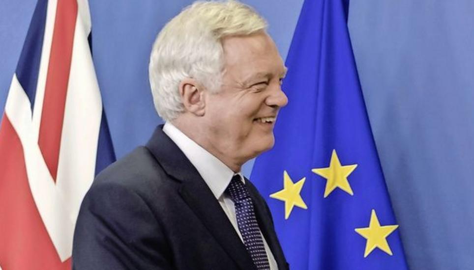 Brexit-Minister David Davis stehen herausfordernde Wochen bevor. Bild Key