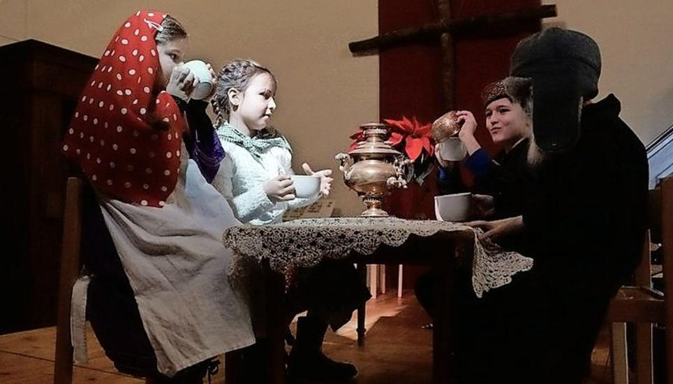 Weihnachtsfeier Geschichte.Weihnachtsfeier Mit Einer Geschichte Aus Russland Schaffhauser