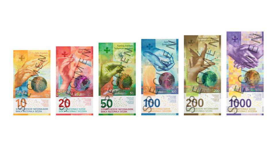 Schweizer Geld Neu