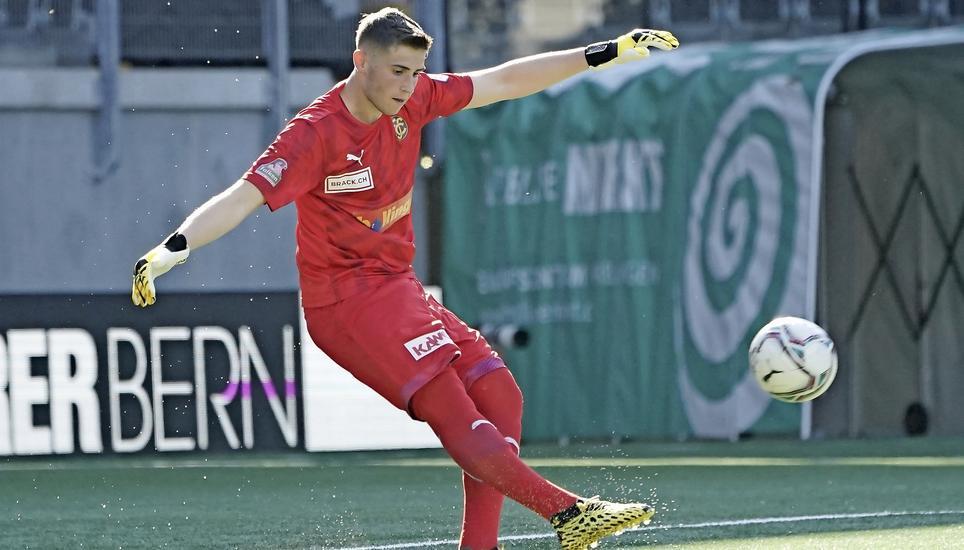 FCS-Goalie Amir Saipi im Kader der U21-Schweizer Nati | Schaffhauser  Nachrichten