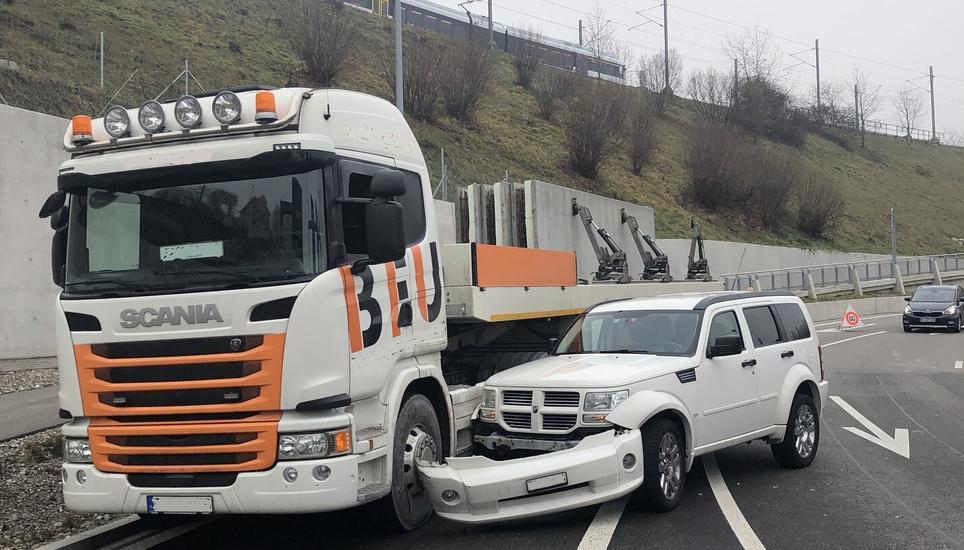 Spurwechsel Unfall