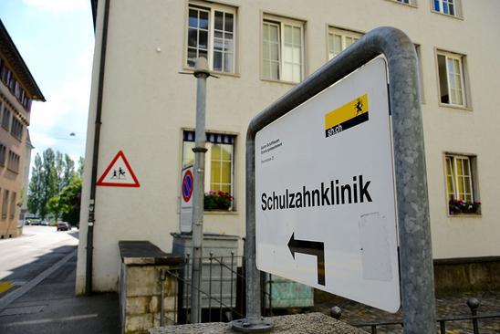 Symbolbild Schulzahnklinik. Bild: Zeno Geisseler