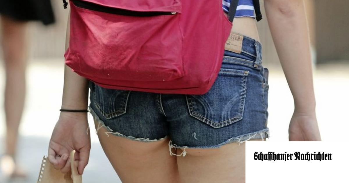 Hotpants in der Schule - eine Ermessensfrage